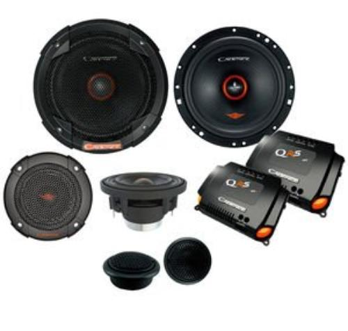 """QRS6K3 - Cadence 6.5"""" 100W RMS QRS 3-Way Component Speakers System"""