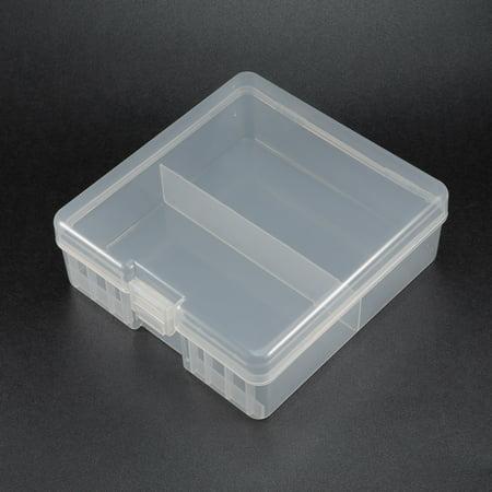 Battery Storage Case Holder Storage Box Transparent 100 x AA Battery Capacity - image 1 of 4