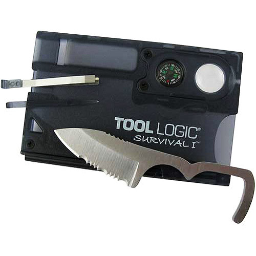 Tool Logic Survival Card with Compass by Tool Logic