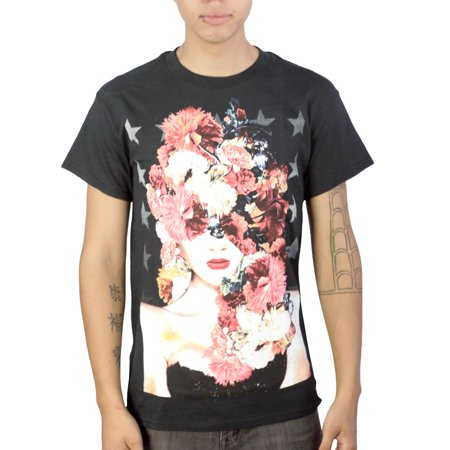 Tony Hawk Flowered Woman Mens Black T Shirt New Sizes S 2Xl