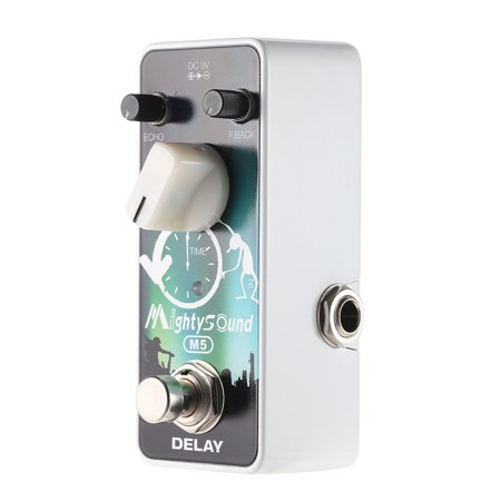 Mighty Sound M5 Mini Delay Electric Guitar Effect Pedal True (Best Sounding Delay Pedal)