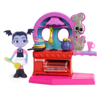 Vampirina Fangtastic Kitchen 7-Piece Playset