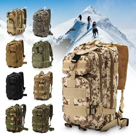 1000D Nylon 8 Colors 30L Waterproof Outdoor Military Rucksacks Tactical Backpack Sports Camping Hiking Trekking Fishing Hunting Bag thumbnail