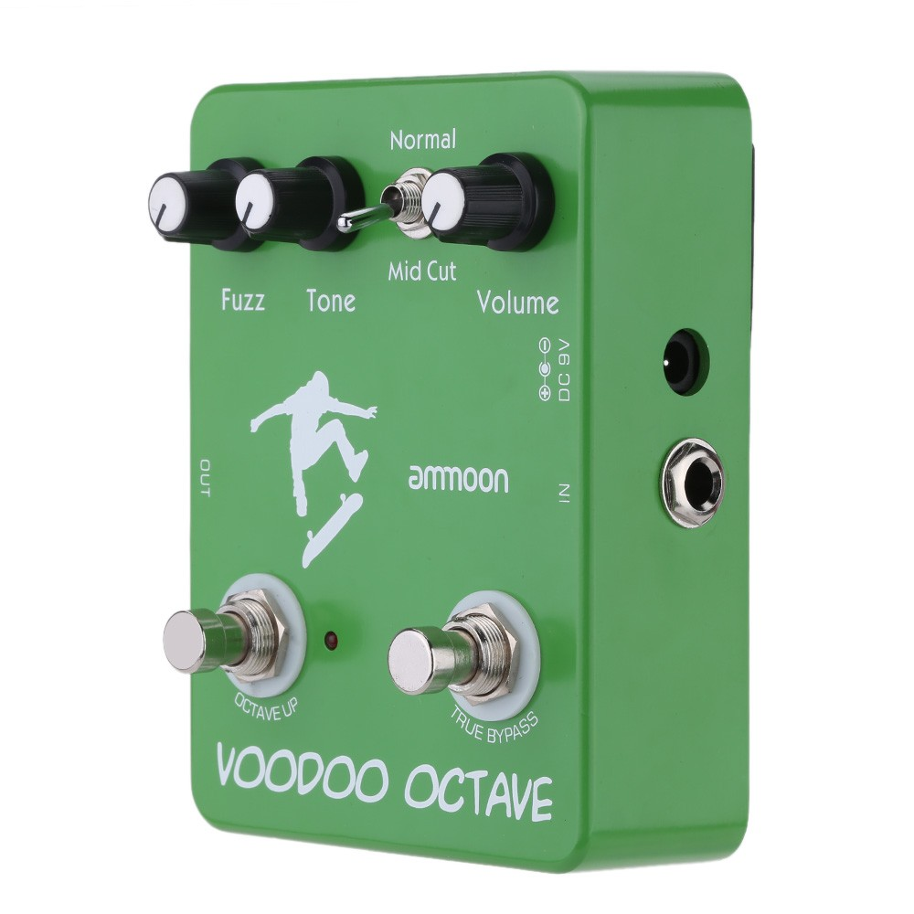 ammoon AP-12 Voodoo Octave Fuzz Effect Guitar Effect Pedal by