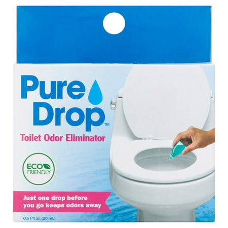 Pure Drop Toilet Odor Eliminator  0 67 fl oz. Pure Drop Toilet Odor Eliminator  0 67 fl oz   Walmart com