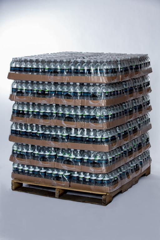 Custom Labeled Bottled Spring Water 16.9 fl oz 5 Pallets 360 Cases 8640 bottles 24 bottles... by Premier Label Water Co