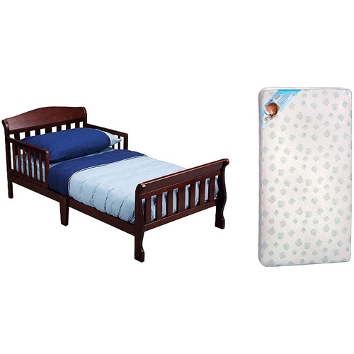 Delta Canton Toddler Bed with Mattress, Your Choice of Finish