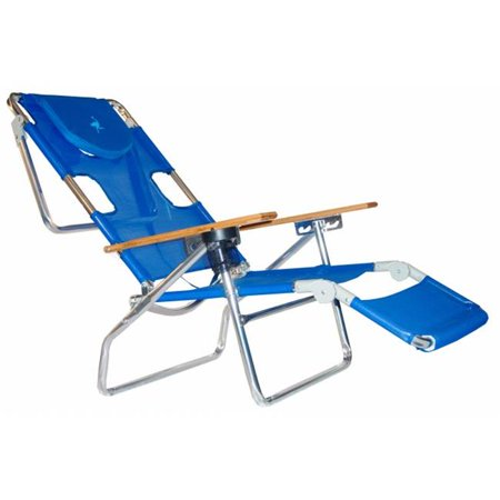 Deltess Corp 3N1 1001B Blue Ostrich 3-In-1 Beach Chair & Lounger Pack Of (Ostrich 3n1 Deluxe Face Down Beach Lounger)