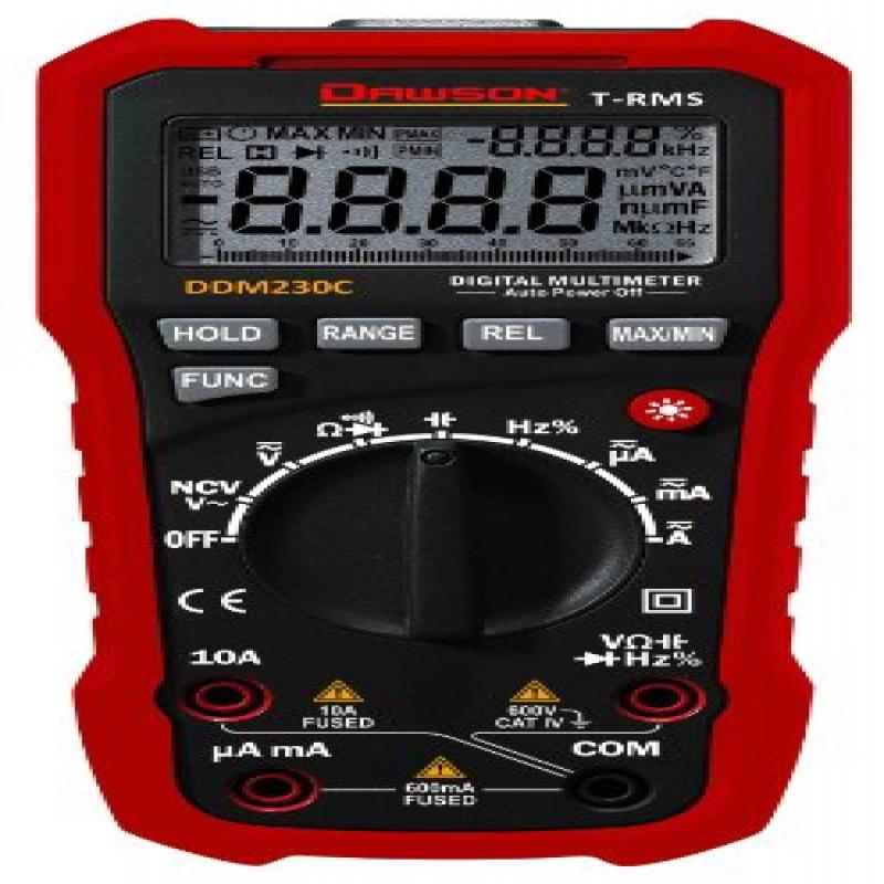 Dawson DDM230C True-RMS Digital Multimeter w/ NCV