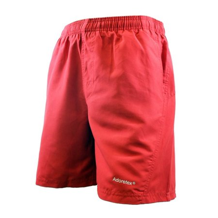 Adoretex Men's Board Short Swimsuit (M0002) - Red - Small