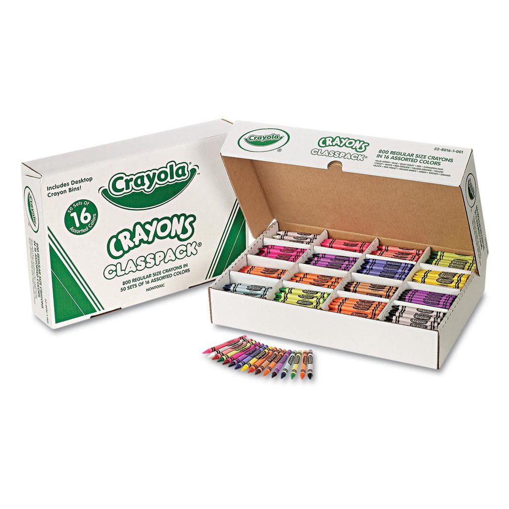 Crayola Classpack Crayons 16 Colors 800 Total Crayons