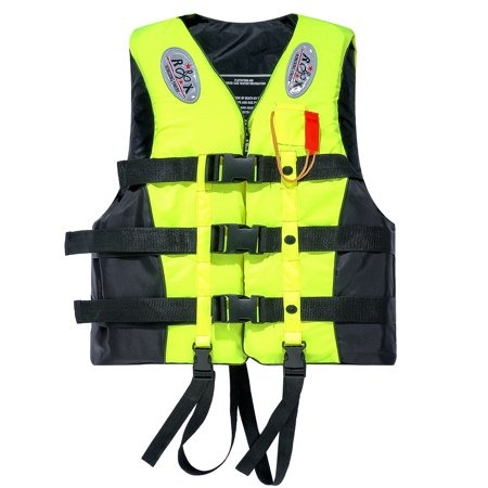 Ktaxon Life Jacket Vest L XL XXL XXXL, Fully Enclosed Water Sport Foam Safty Swimwear, for Adult (Best Life Vest For Swimming)
