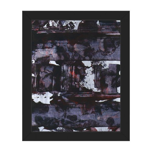 Click Wall Art 'Locomotive Oil' Framed Painting Print