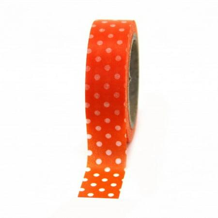Dress My Cupcake Washi Decorative Tape for Gifts/Favors, Polka Dot,
