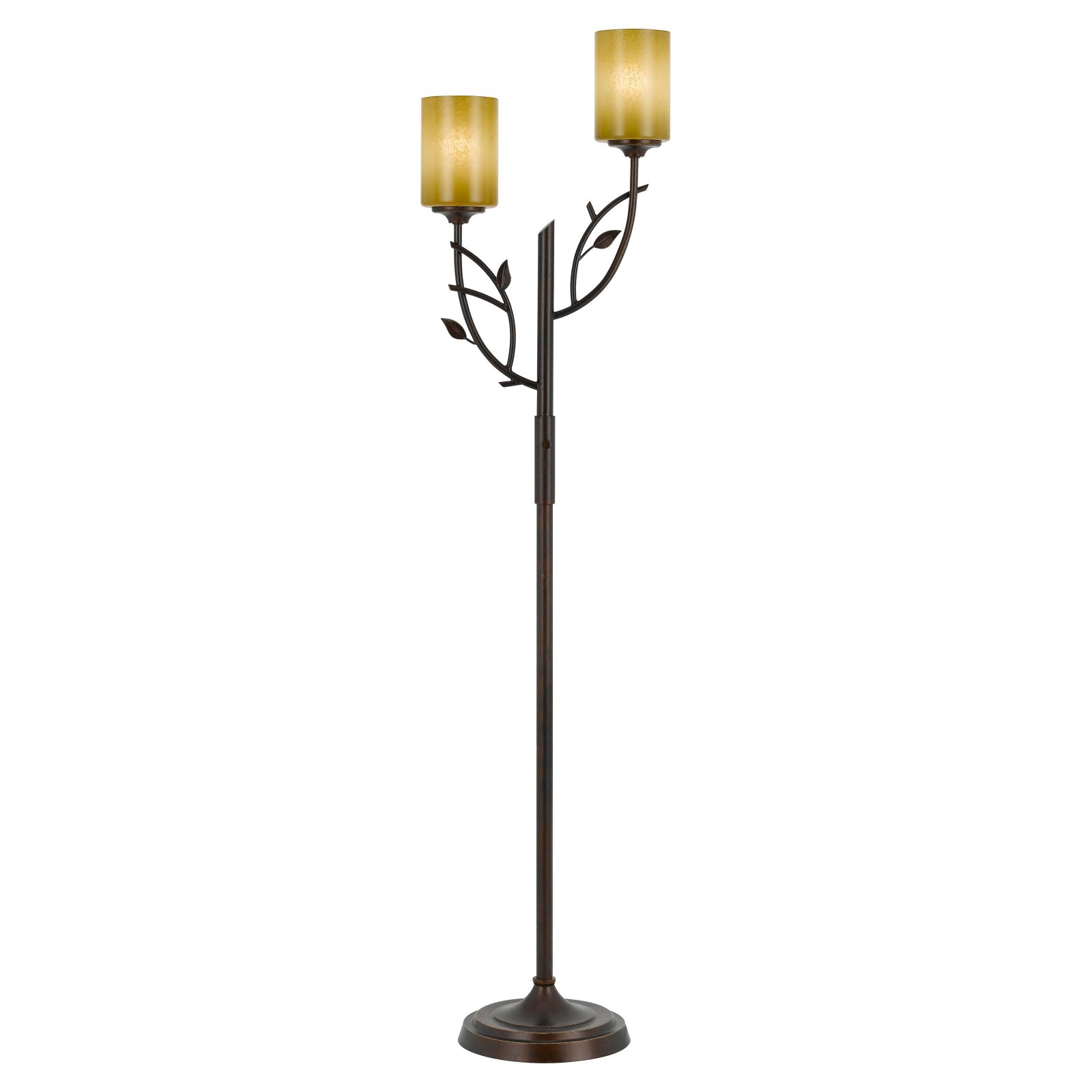 Cal Lighting BO-2214FL Hana Iron Floor Lamp by CAL Lighting