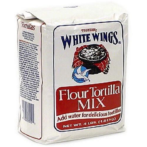 White Wings La Paloma Flour Tortilla Mix, 4 lb (Pack of 6)