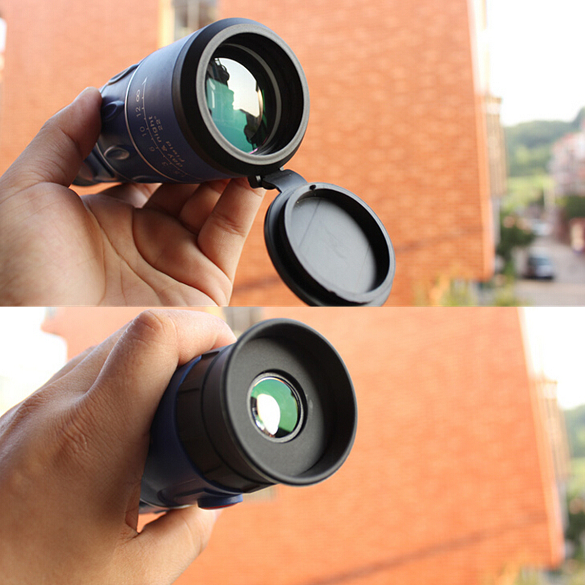 26 x 52 HD Clear Zoom Optical Monocular Telescope Hiking Camping Hunting Night forcamping Vision 66M/8000M