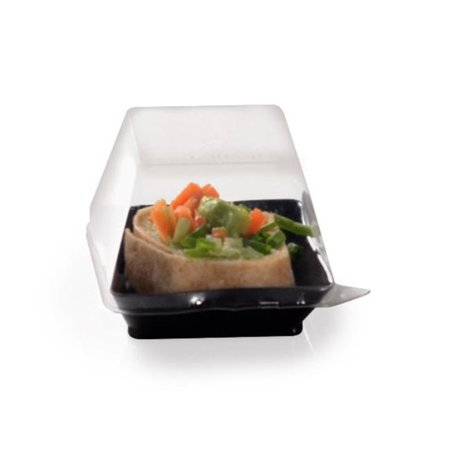 Fineline Settings 6201-L Clear 2.25'' x 2.25'' Serving Tray PET Lid - image 1 of 1
