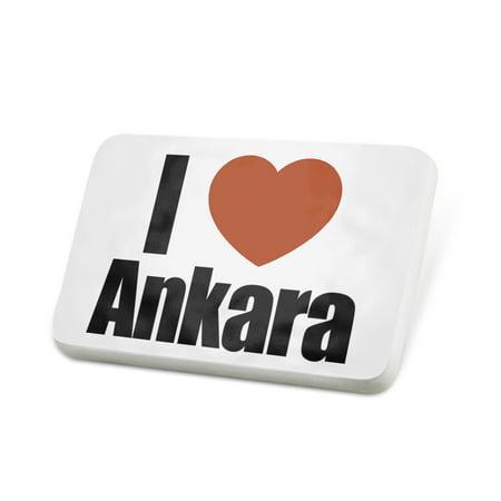 - Porcelein Pin I Love Ankara region: Turkey, Asia Lapel Badge – NEONBLOND