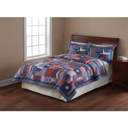 Mainstays Quilt Collection Stars And Stripes Walmart Com