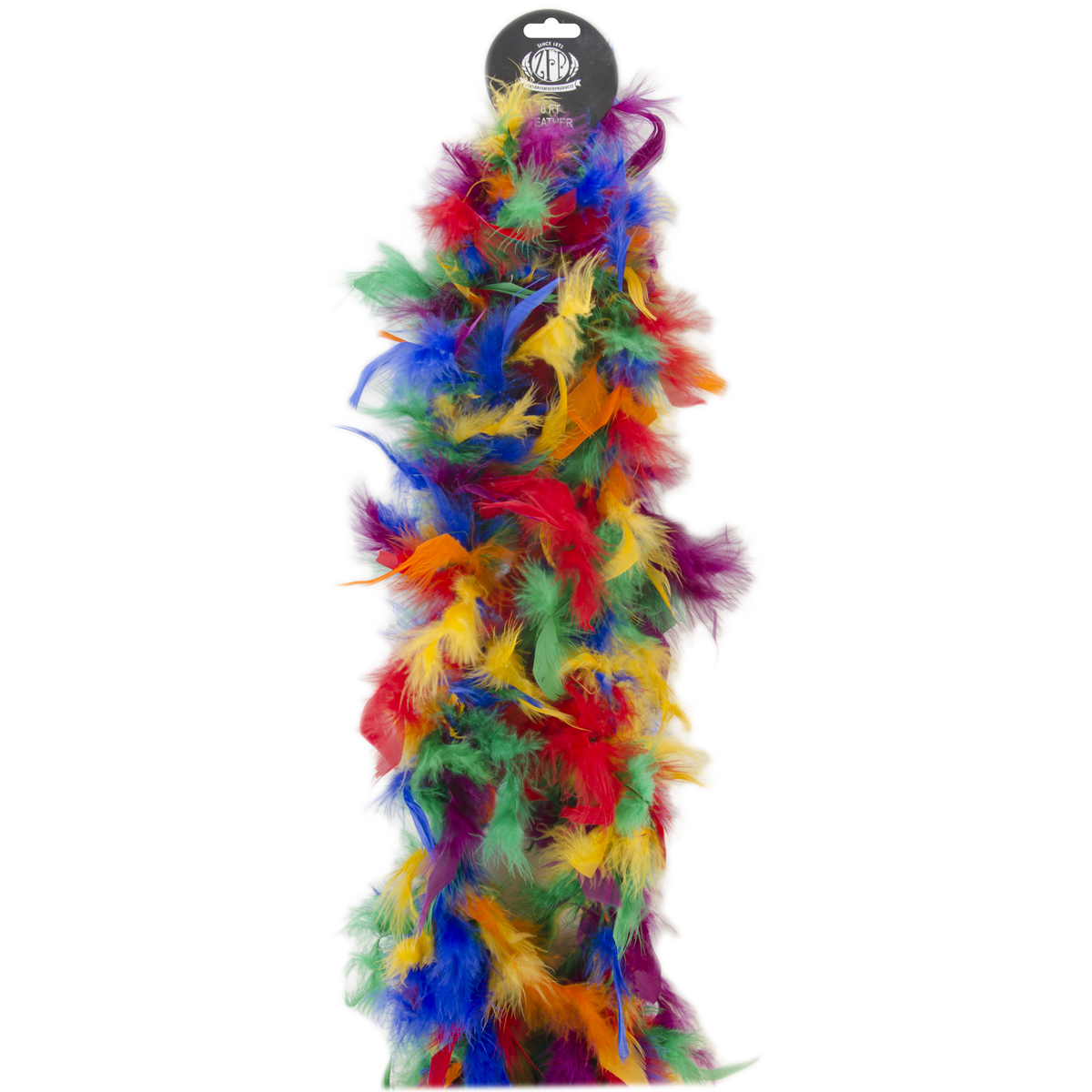 "Chandelle Feather Boa Mix 72""-Vibrant"