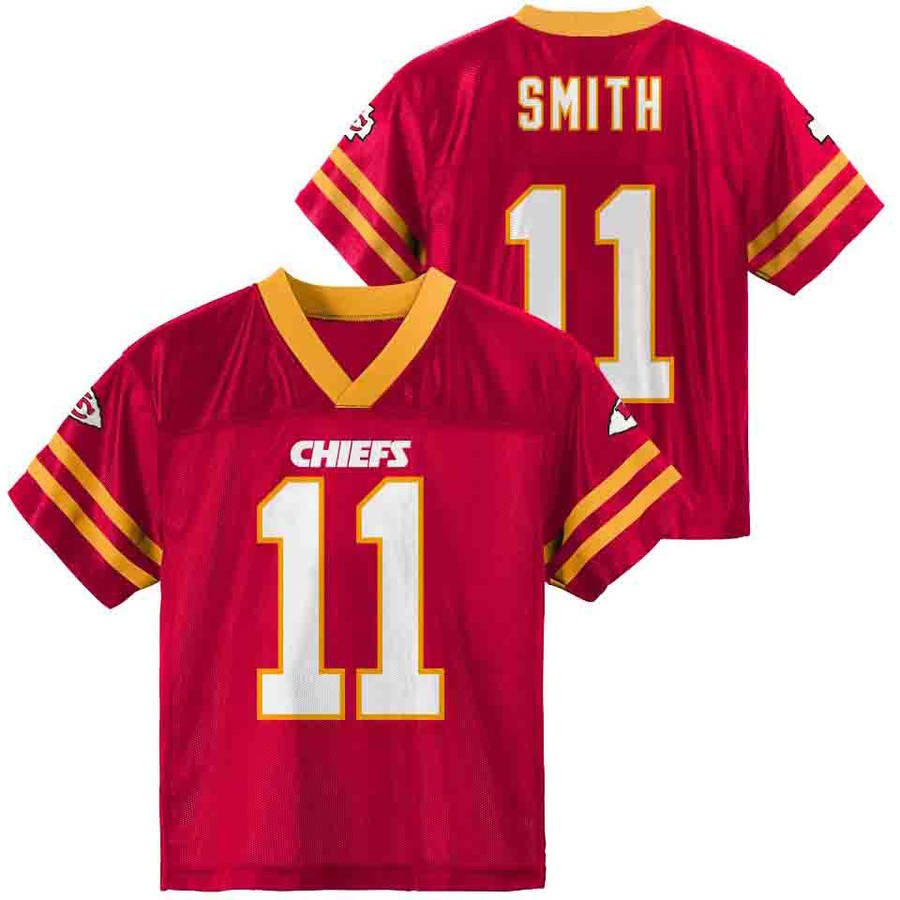 NFL Kansas City Chiefs Toddler Alex Smith Jersey