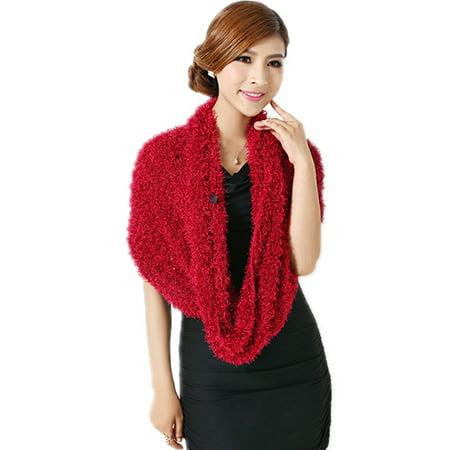 Jennis 8in1 Stylish Ladies Magic Scarf Shawl Woolly Charcoal Fiber Head (Stylish Wrap)