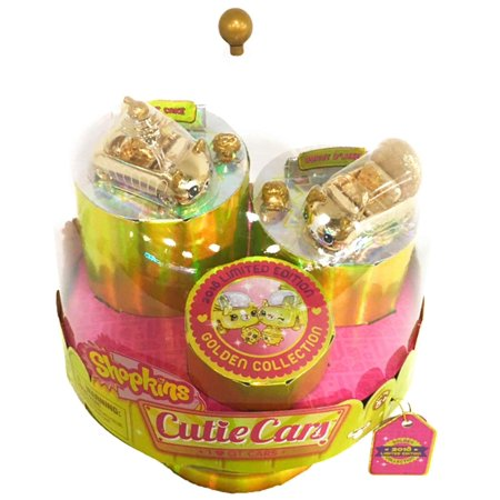 2018 SDCC Limited Edition Exclusive - Shopkins Cutie Cars - 24 Carat Bling