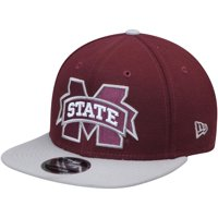 Mississippi State Bulldogs New Era Basic 9FIFTY Adjustable Hat - Maroon - OSFA