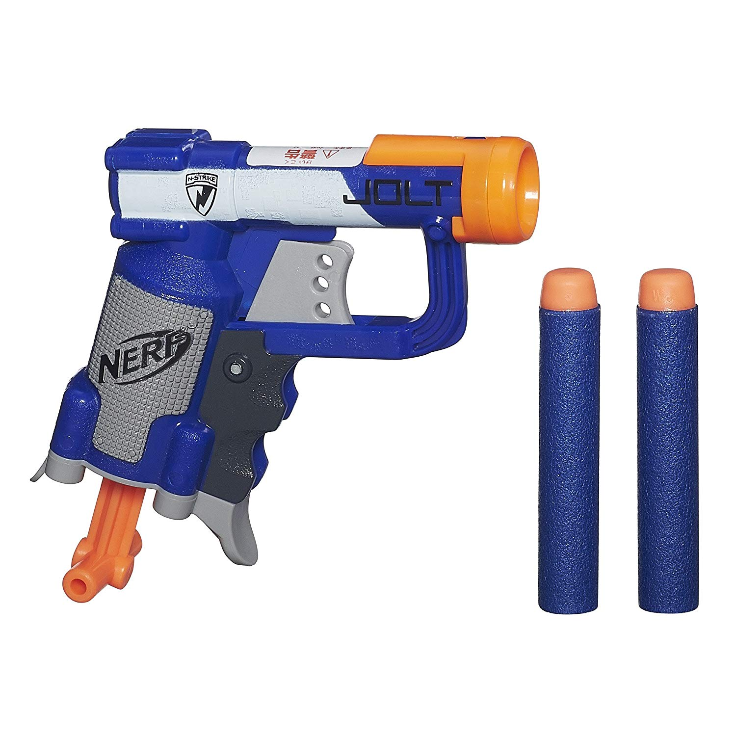 N-Strike Jolt Blaster (blue), Ultra-small JOLT blaster packs a powerful punch By Nerf