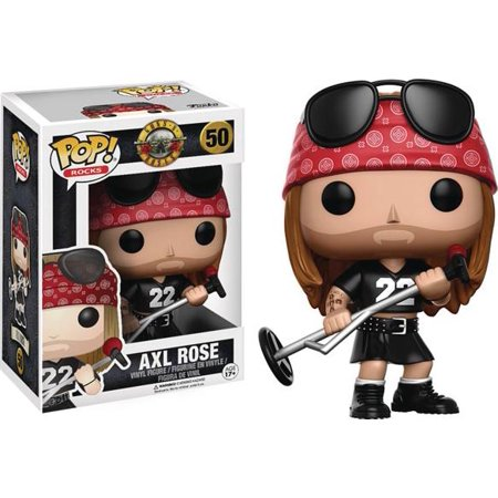 Rose Pop (Funko POP! Rocks Guns N' Roses Axl Rose)