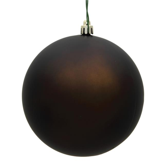 Vickerman N596875M 3 in. Chocolate Matte Christmas Ornament Ball - 32 per Box - image 1 of 1