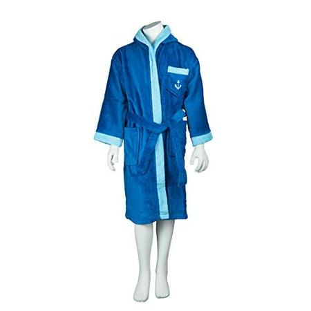 Terry Velour Bath Robe (Men's Terry Velour Hooded Bathrobe (10,)
