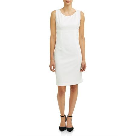 Women's Light Sheath Crepe Dress