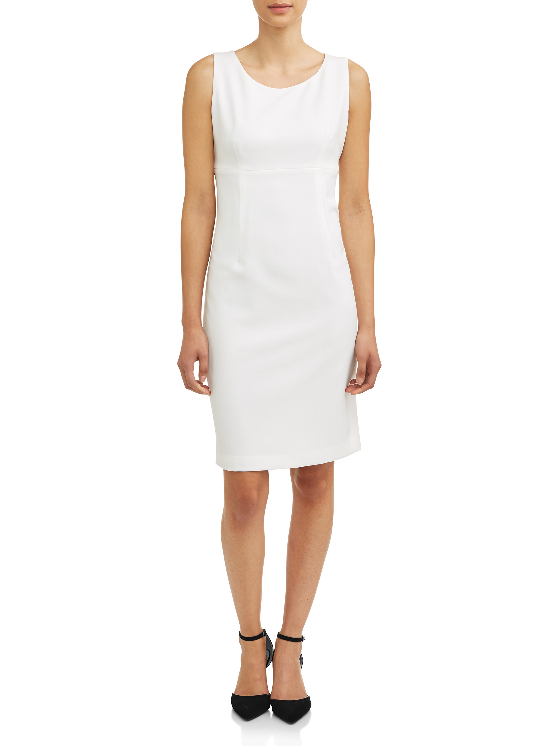 Women's Light Sheath Crepe Dress