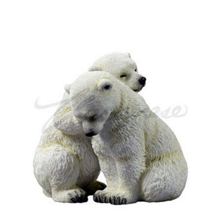 Polar Bear Game (Two Polar Bear Cubs Collectible)