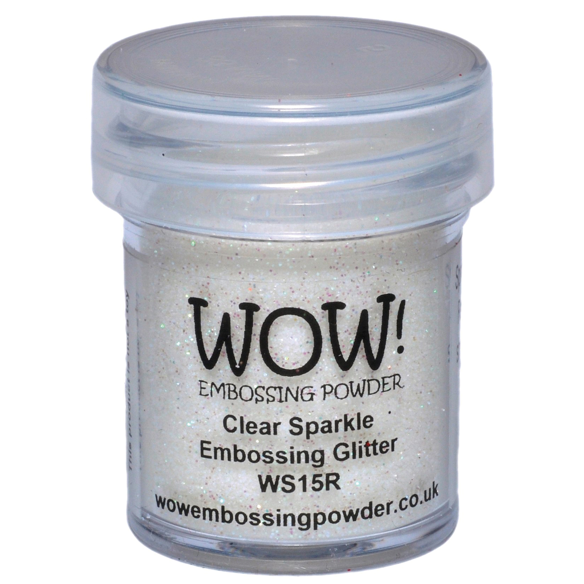 WOW! Embossing Powder 15ml-Clear Sparkle