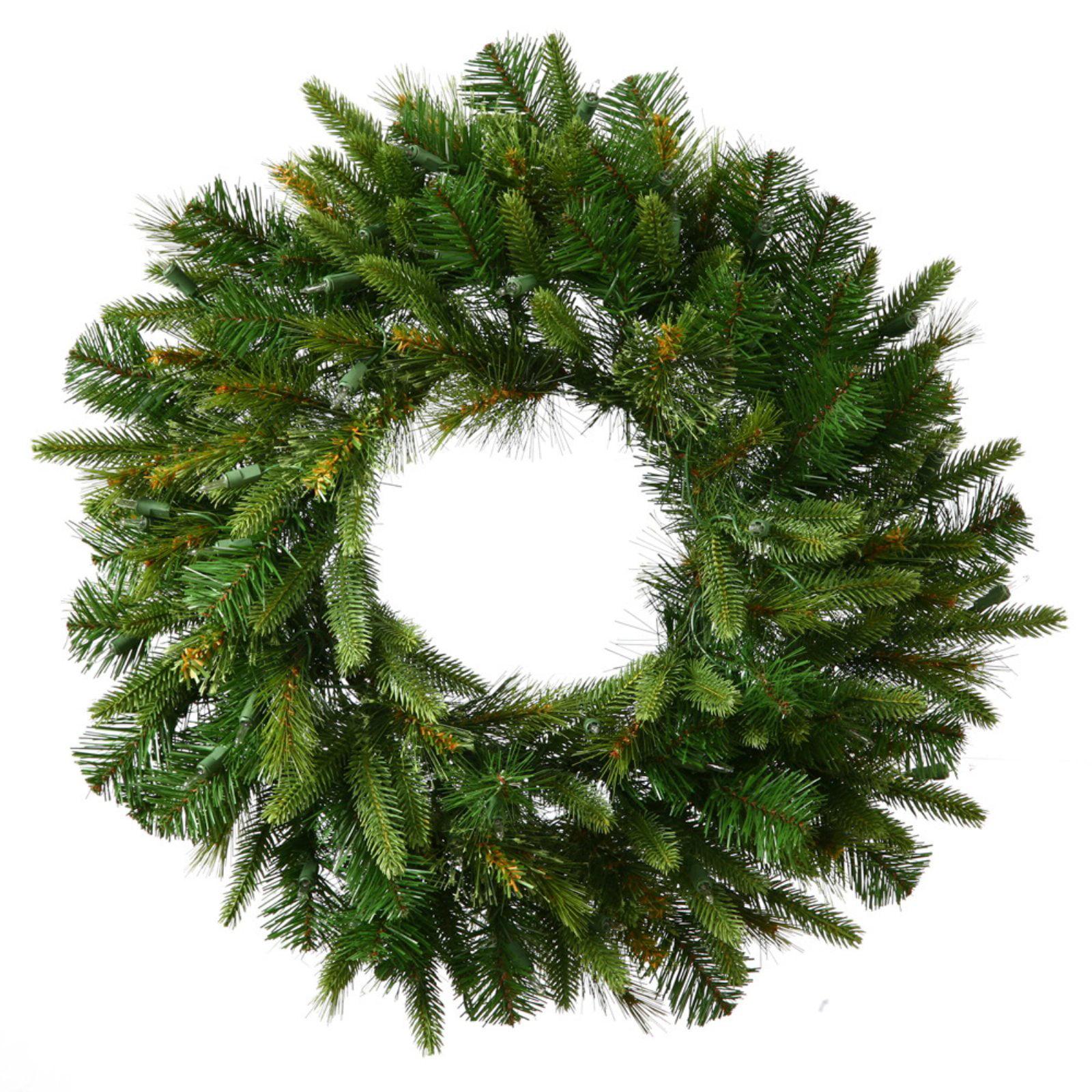 """Vickerman 30"""" Cashmere Wreath 155 Tips"""
