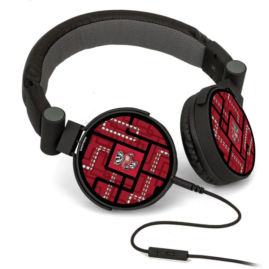 Wisconsin Badgers DJ-Style Headphones