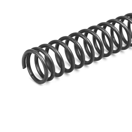 1.4mmx13mmx305mm Manganese Steel Compression Springs Black 2pcs - image 1 de 4