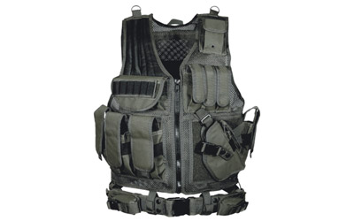 Leapers Men's 547 Law Enforcement Tactical Vest - PVC-V547