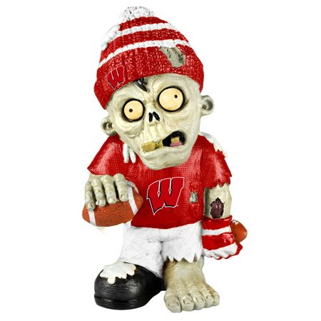 Wisconsin Badgers Zombie Figurine - Thematic