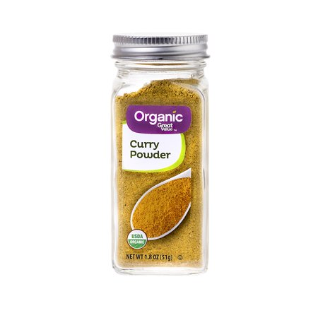 - Great Value Organic Curry Powder, 1.8 oz