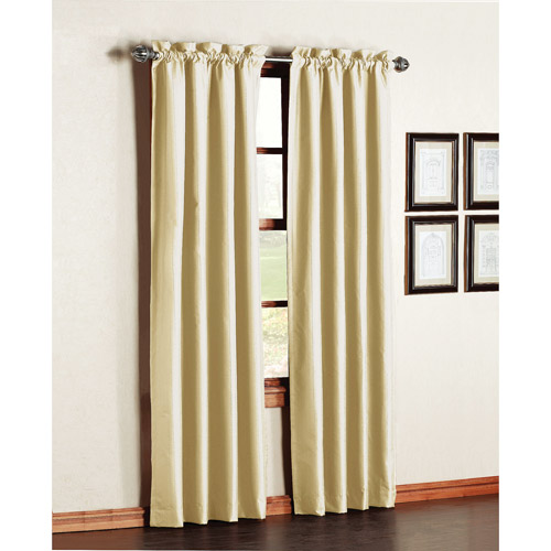 Premiere Thermal-Backed Energy-Efficient Curtain Panels, Set of 2