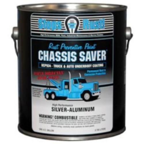 Magnet Paint & Shellac UCP934-01 Chassis Saver Paint, Stops And Prevents Rust, Sliver-aluminum, 1 Gallon Can