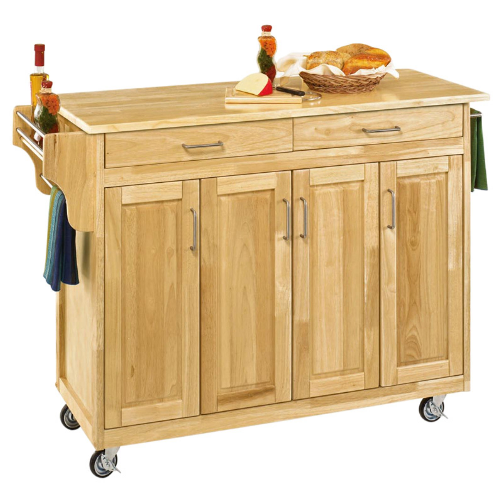 Home Styles Large Create-a-Cart Kitchen Island