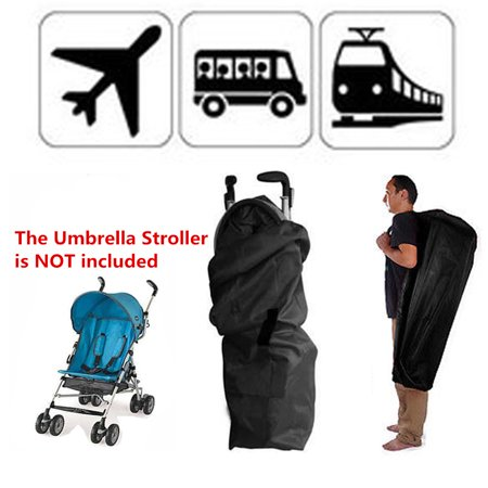 Portable Baby Umbrella Stroller Outdoor Carry Bag Entrance Check Travel Baby Car Pram Storage Bag (NOT included The Umbrella -