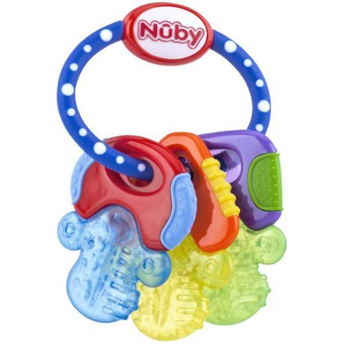 Nuby Ice Gel Baby Teether Keys