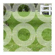 Stick Pretty Radial Decorative Window Film
