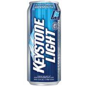 Keystone Light Beer, 6 pack, 16 fl oz